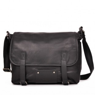 James Large Leather et sac à main en cuir pour femme