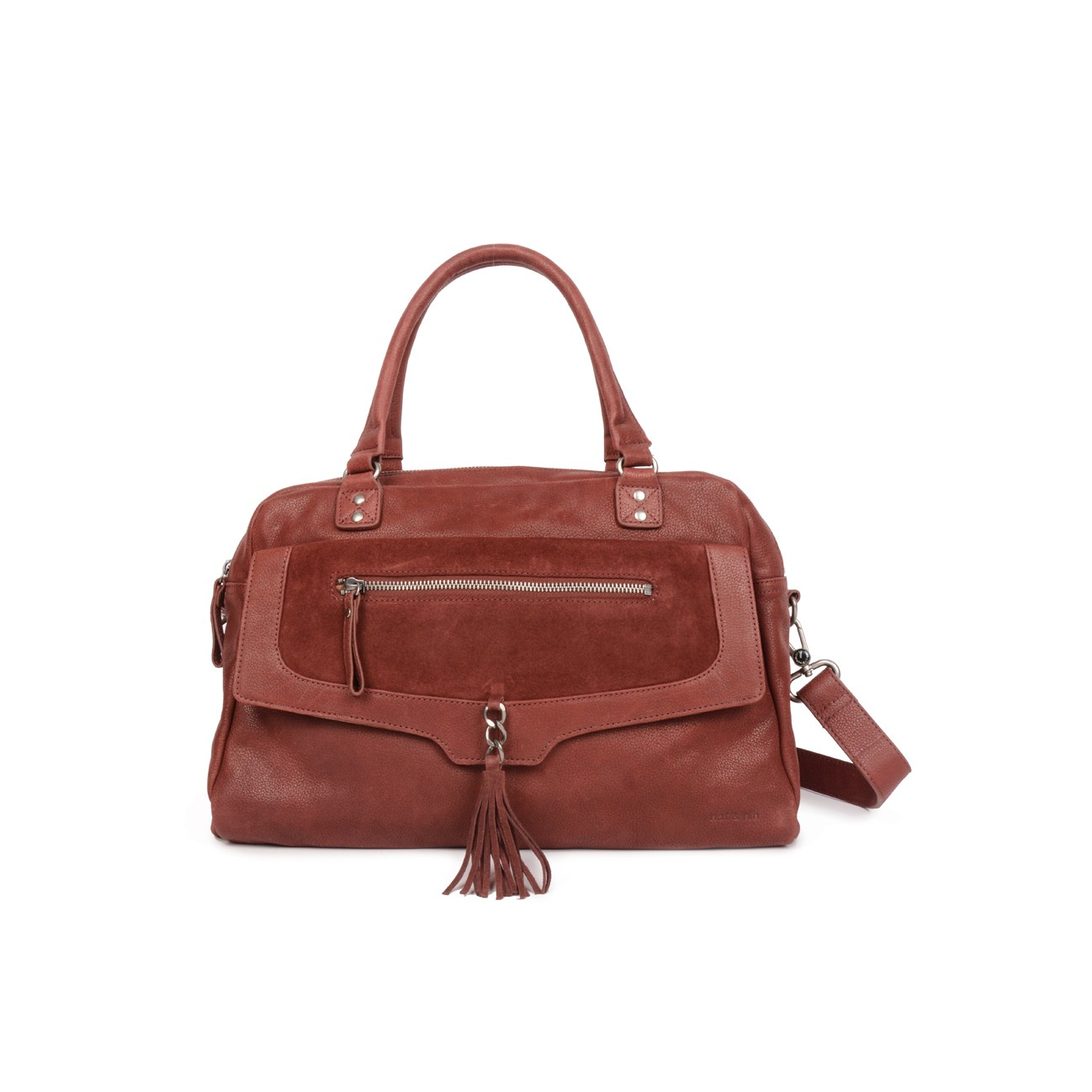 BONNIE – Grand sac femme en cuir, deux compartiments 46408f8a36a