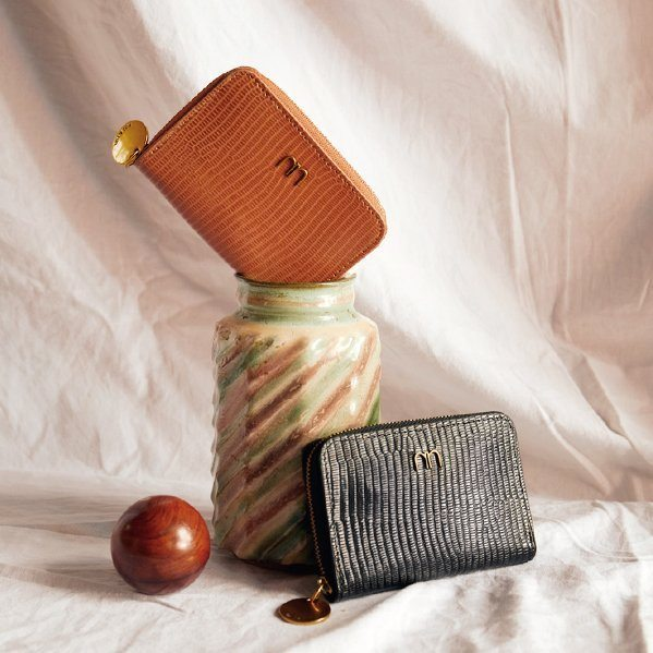 Leather wallets accessories by Nat & Nin